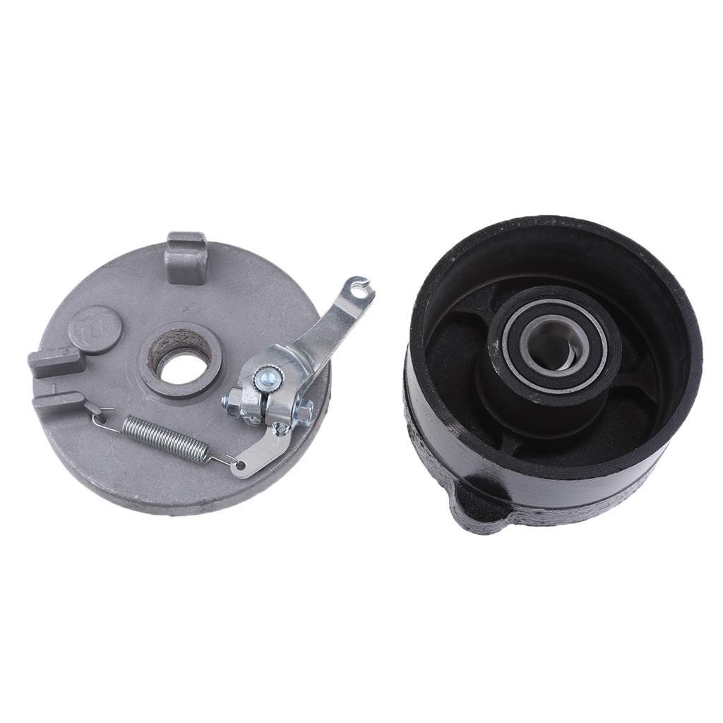 3 boîtier de moyeu de roue de frein à tambour Stud + Chaussures pour 110cc 125cc Dirt Bike VTT