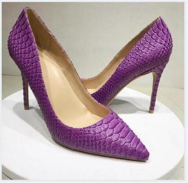 Libre del envío nuevo estilo de punta punto de cuero marrón mate zapatos de tacones altos botas de zapatos rojos de la boda de novia zapatos de suela de aguja de 12 cm 10 cm 8 cm