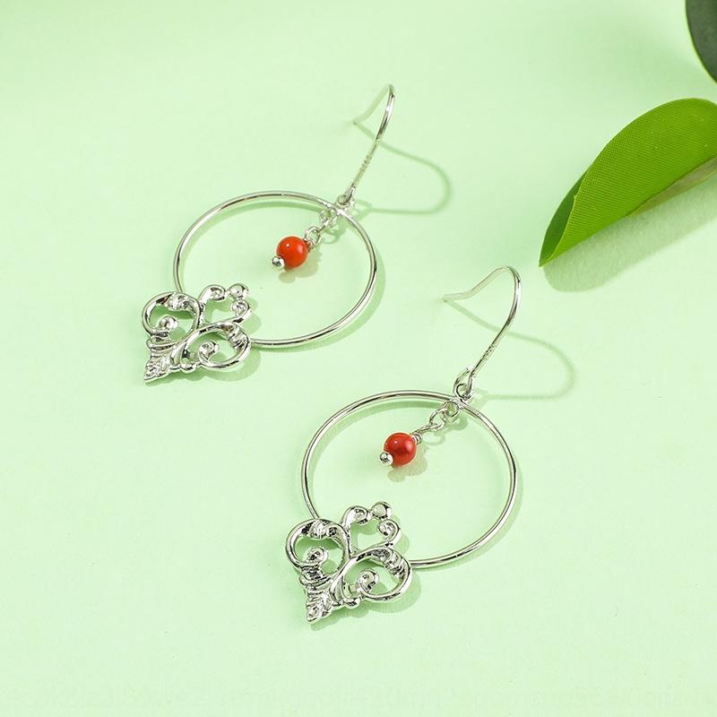 bgyac S925 e platino placcato moda anti-allergia gancio per l'orecchio argento orecchini personalizzati orecchini cerchio delle donne