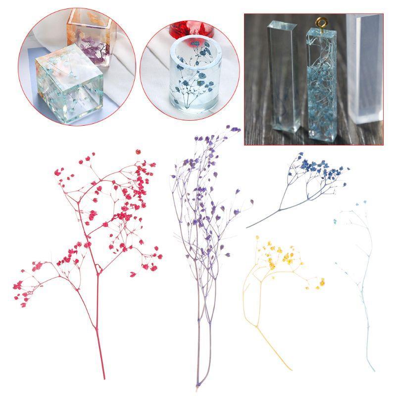 1 Box Encher Flor seco Handmade Flores DIY resina Epoxy Filler Crafts Silicone Moldes Ferramentas Cristal UV Acessórios Decoração