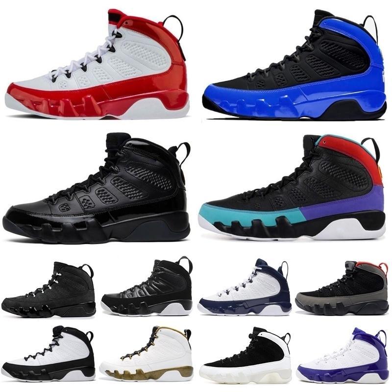 Мода Новые дизайнерские 9 9s Мужчины Баскетбол обувь тренажерный зал красный Бред пространство вареньем OG Мечта Do It мужские классические кроссовки Кроссовки