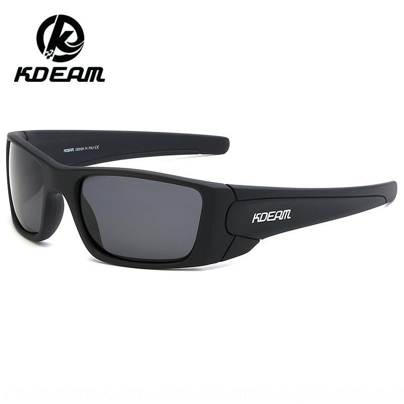 nOrNU kdeam bunte Spiegel echter Film polarisierte Sonne Outdoor-Sport-Männer und Frauen Reiten TR90 Outdoor-Sport Sonne Sonnenbrille Sonnenbrille