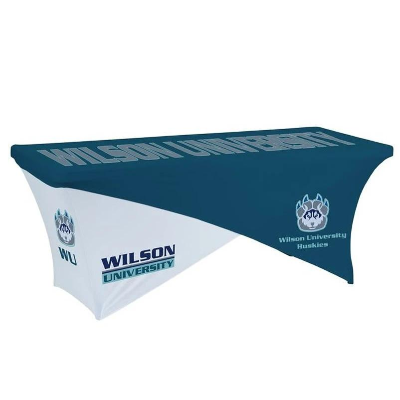 6ft/8ft Dey Sublimation Trade Show Advertising Custom Printed Stretch Table Cover