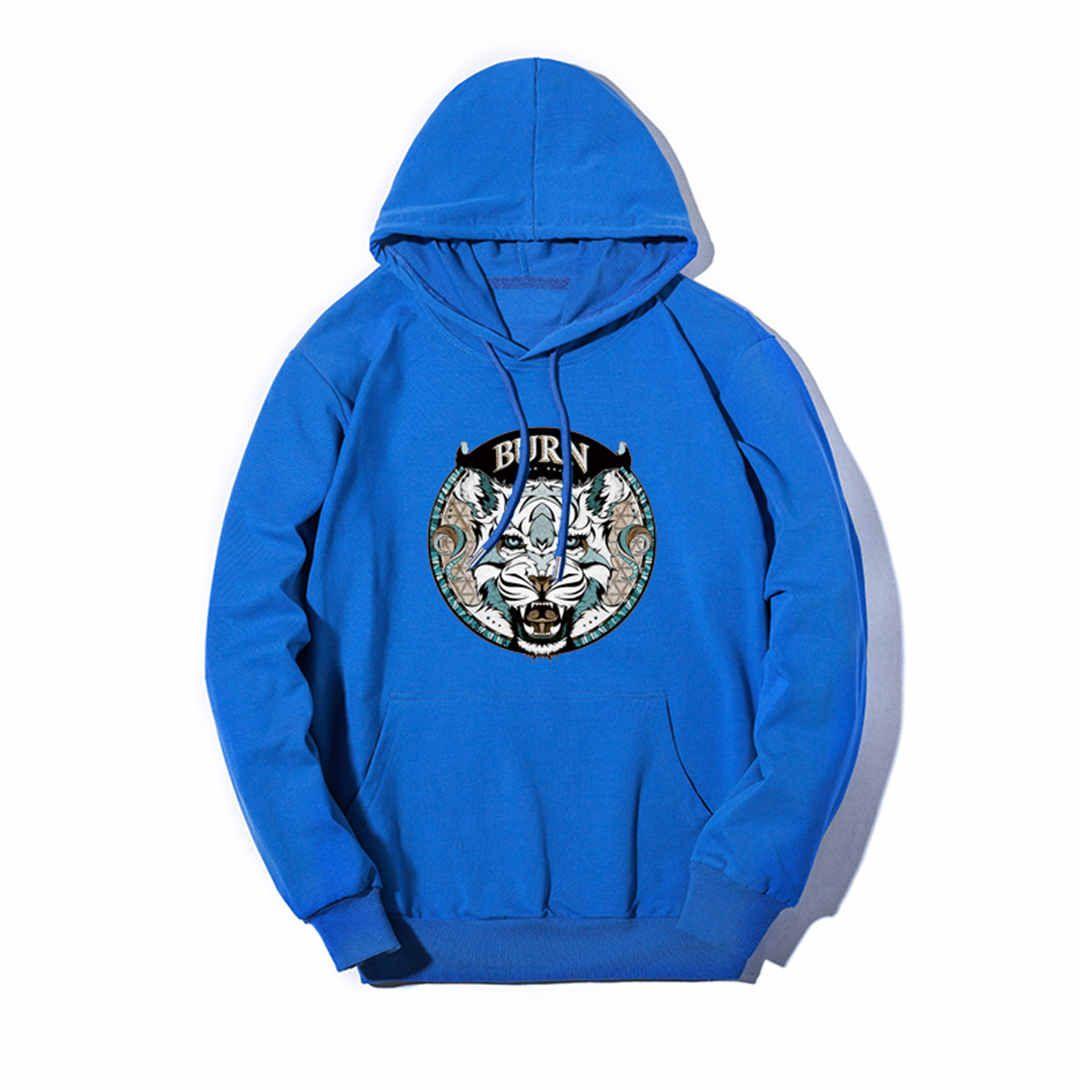 Mens Designer Hoodies de luxo camisola Homem Mulher Hoodies Streerwear moda Pullovers mangas compridas Queime Tiger Superior Qualidade