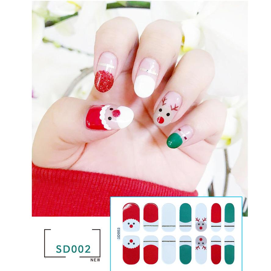 Christmas Decorations 2020 Fashion Cross Border Foreign Trade Christmas Nail Art Full Stickers 3d Nail Stickers Christmas Nail Art Christmas Decorations Sales Christmas Decorations Shop Online From Mens Boots 0 32 Dhgate Com