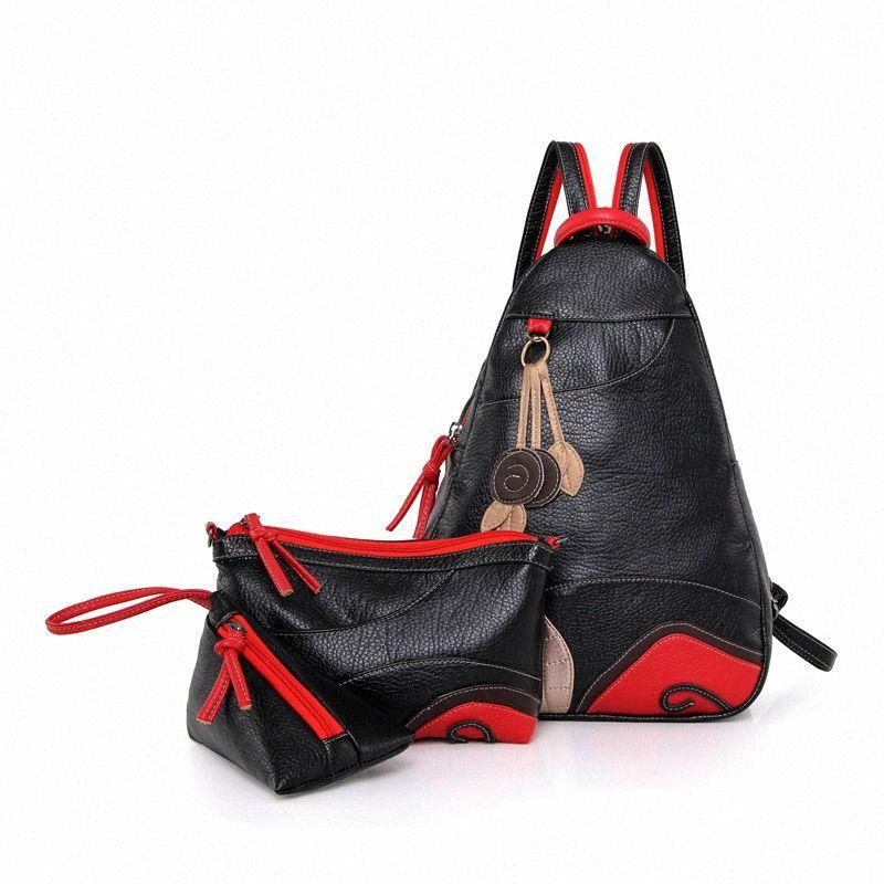 2020 Нового Дамы Рюкзак Рюкзак Маленького трехкомпонентной дама Back Pack Малой Женщина Рюкзаки для подростков Дешевых Рюкзаков от, $ 28,28 | DH RmL4 #