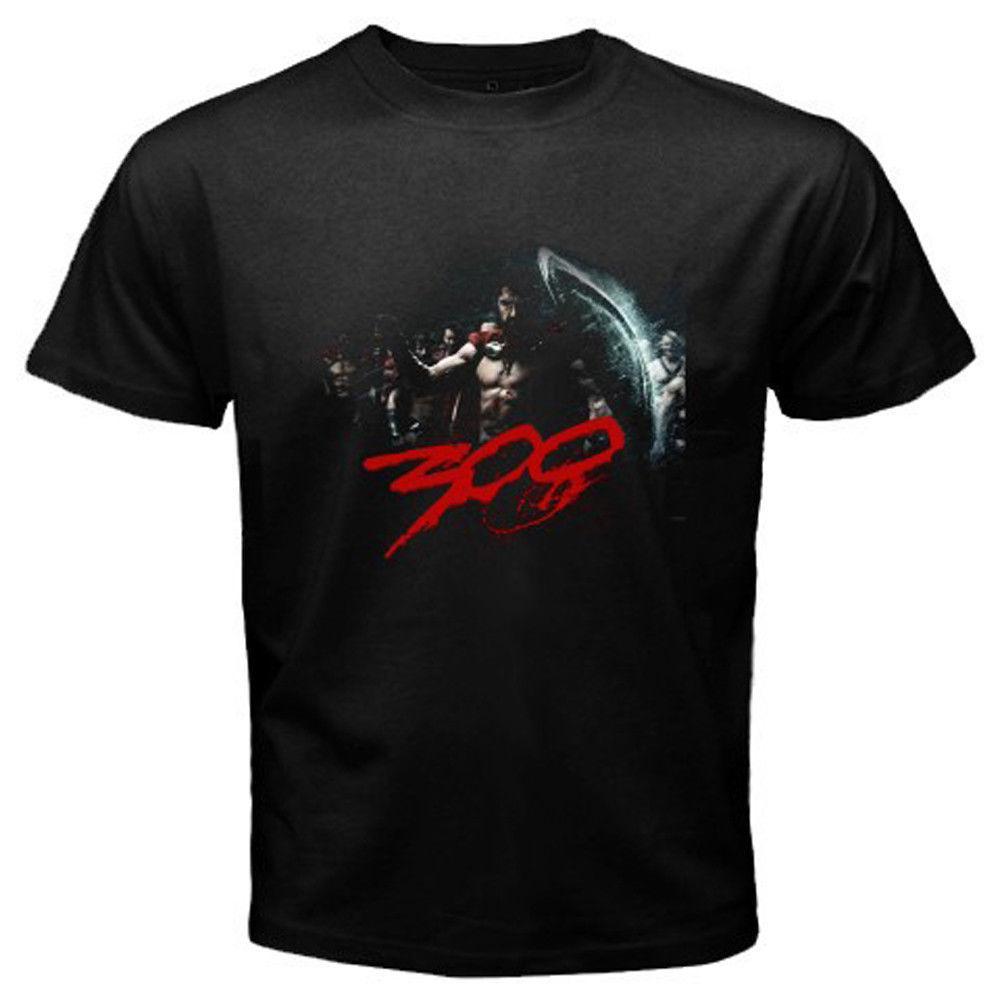 T-shirt preto de Nova 300 Filme Leonidas Sparta Imperador Guardião Homens Tamanho Arrefecer orgulho Casual camisa t homens Moda Unissex tshirt