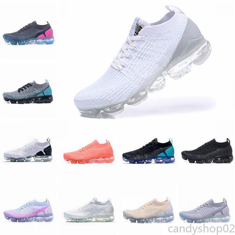 Max Flyknit Utility Running Shoes mulheres e homens de alta qualidade tênis branco calçado desportivo Caminhada Andar Shoes c02