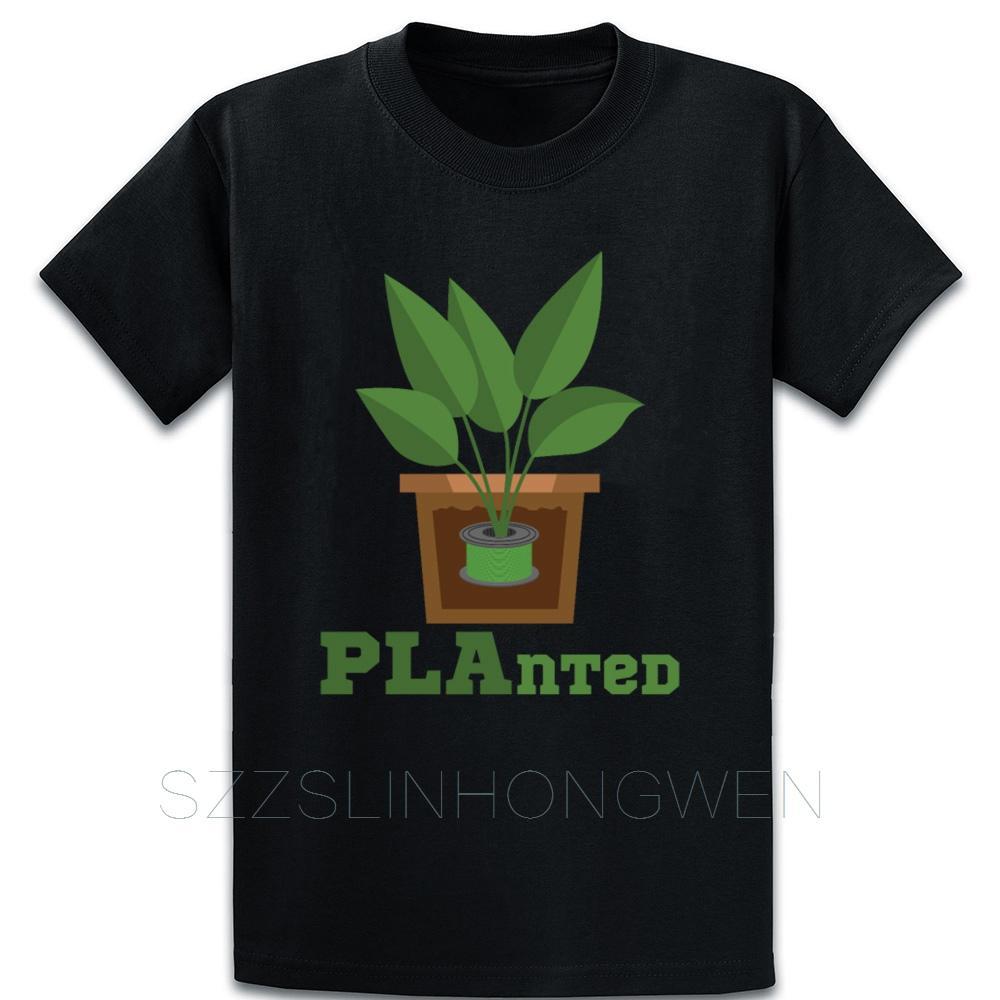 3d stampa Piantato divertente camicia filamento T Estate Stile personalizzare la dimensione manica corta Natural S-5XL vestiti della camicia comico