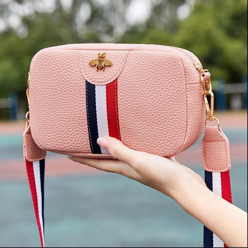 Donne di marca Composite Messenger Bag Bee Diamanti a pannelli in pelle Borse borsa femminile spalla Top maniglia Bolsas