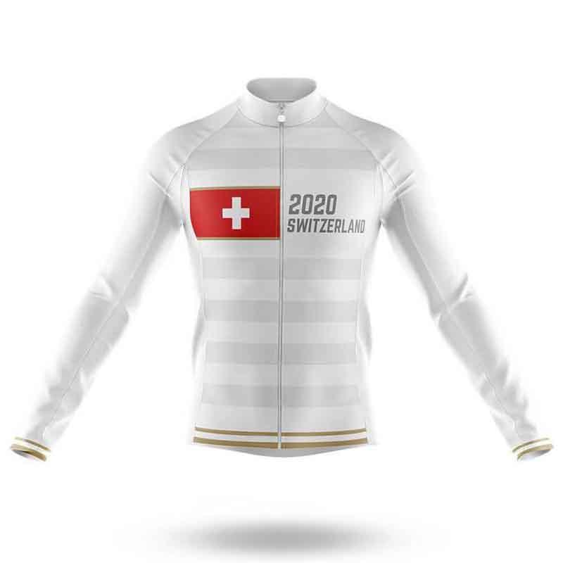 SPTGRVO سويسرا 2020 كم فريق برو طويل ركوب الدراجات جيرسي رجل / إمرأة دراجة الملابس MTB دراجة بلايز قميص رجل الدراج الزي