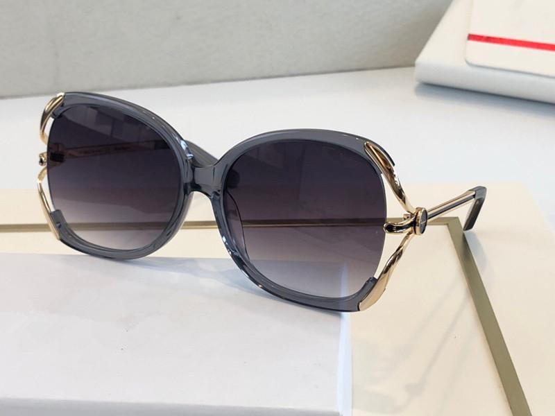 جديد 5184 إطار نظارات أزياء المرأة النظارات الشمسية UV400 حماية طلاء مرآة عدسة الكامل مطلي الإطار أعلى جودة تأتي مع صندوق 5184