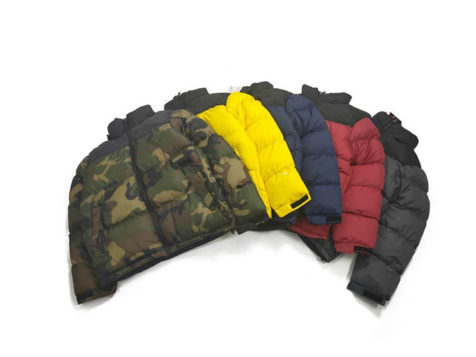 20FW Erkek ceketler Aşağı Erkekler Yeni Spor Ceket Kış Erkek Moda Fermuar WINDBREAKER Spor Coats Erkek Sportwears M-2XL
