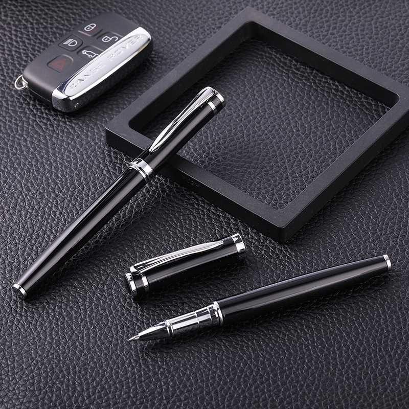 Guoyi B020 Baozhu caneta presentes do escritório de negócios high-end pesado toque 0,5 milímetros de metal e logotipo corporativo caneta assinatura personalizada