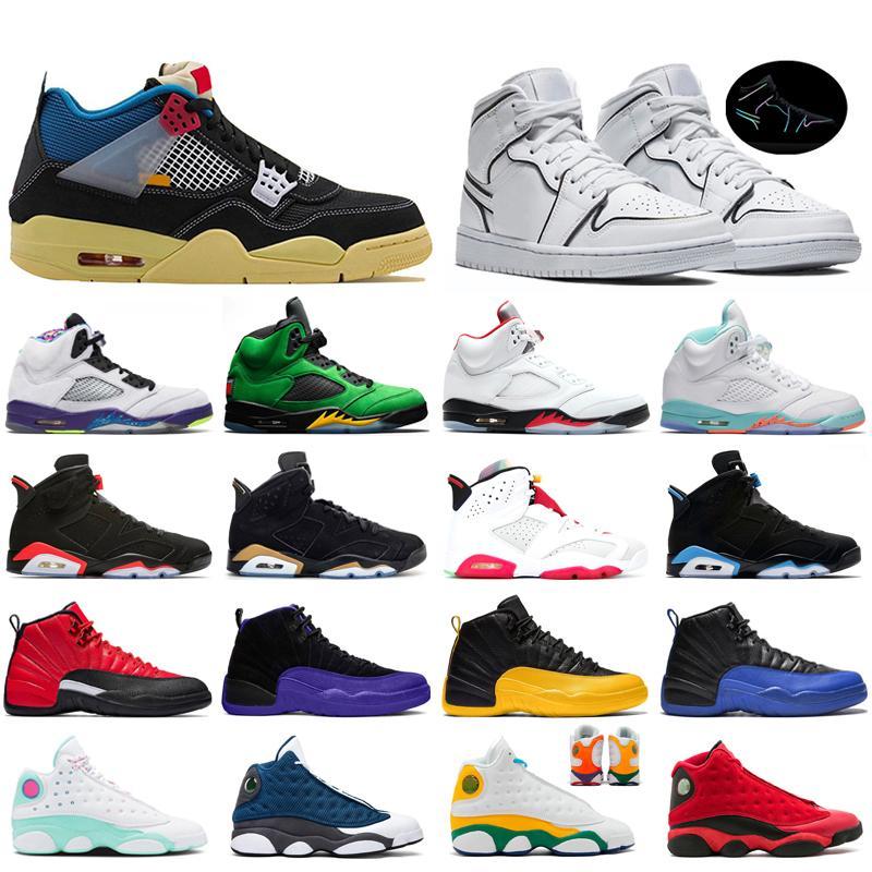 air jordan retro 12s 13s chaussures de basketball pour qualité supérieure version correcte Kevin Durant X kds 10s arc-en-loup gris KD10 FMVP baskets USA 7-12