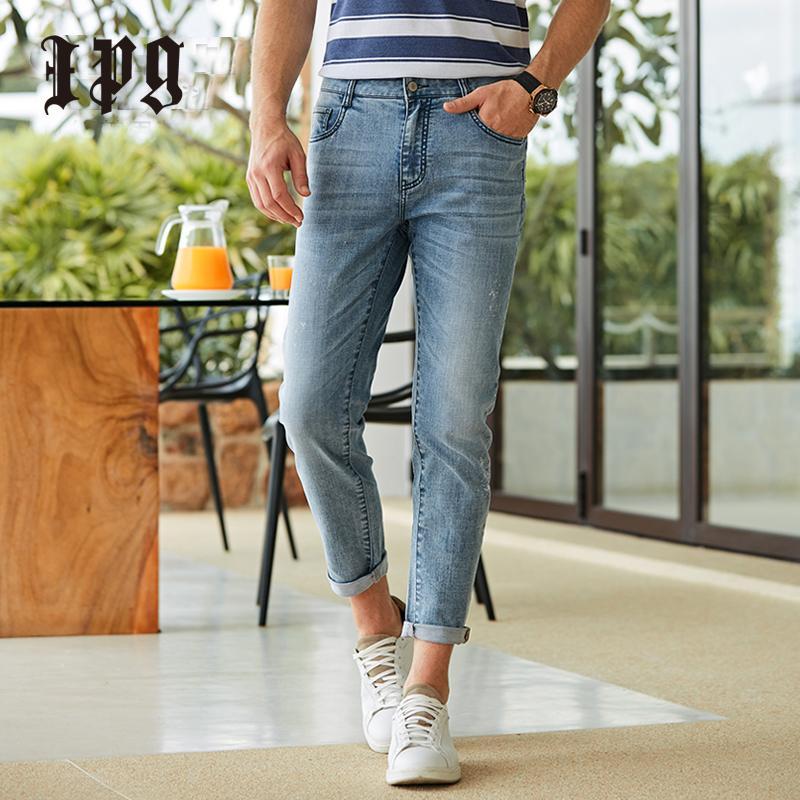 Ipg 2020 neue Art und Weise Aurumn Mens Jeans Stretch beiläufige Marken-Mann-dünne Hosen-Qualitäts-Jeanshose Dünne Hosen für Männer 80511