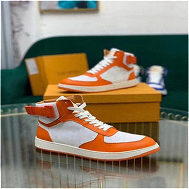 2020 nuevos zapatos casuales de la moda de las mujeres Zapatos de Oro escotado de cuero planas hombres zapatillas de deporte casuales 38-45 dx999