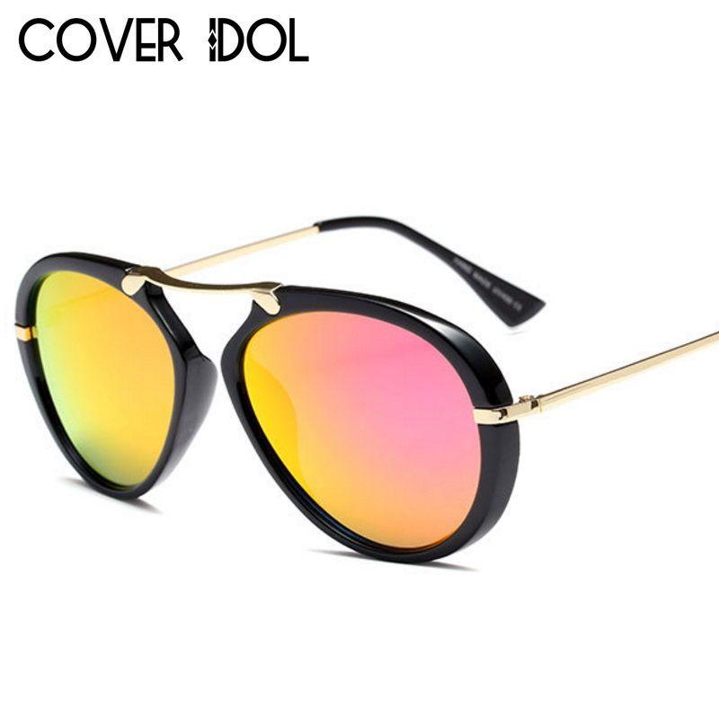 Полуофициальный Модные солнцезащитные очки для мужчин и женщин дизайнер Pilot Солнцезащитные очки UV400
