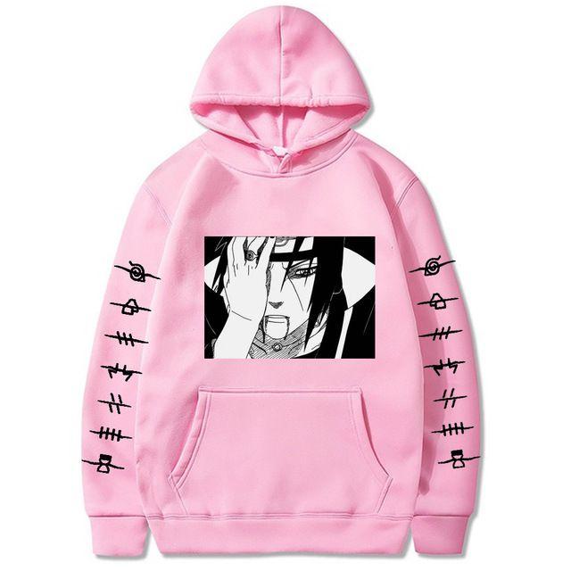 2020 моды наруто Свитера с капюшоном Streetwear Итачи пуловер Толстовка Мужчины Мода осень зима Hip Hop балахон пуловеры