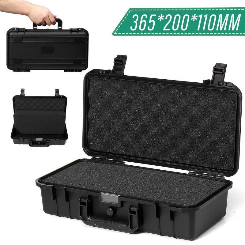 365x200x110mm sécurité protection instrument Boîte à outils Boîte à outils anti-choc de stockage étanche Impact Tool boîtier résistant valise