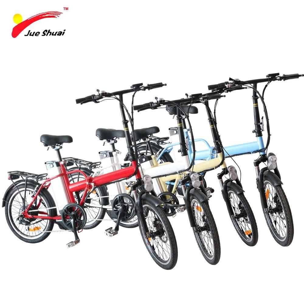 20 polegadas hub elétrica bicicleta dobrável Ebike 36V 250W traseira Motor Roda com 36v 10ah lítio LED da bateria controlador Ebike