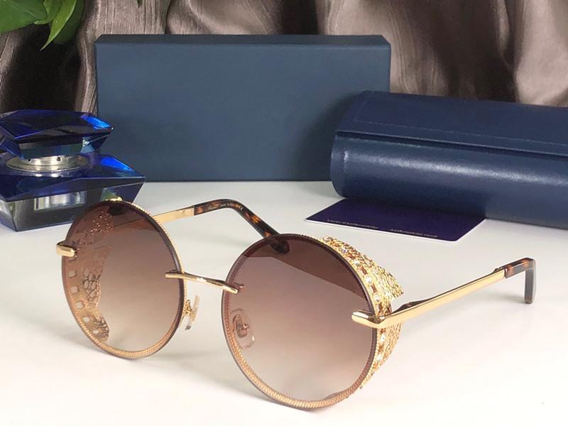موضة جديدة C68S النظارات الشمسية للنساء مصمم ساحة التفاف الإطار UV400 حماية عدسة ألياف الكربون الساقين الصيف نمط أعلى حالة الجودة