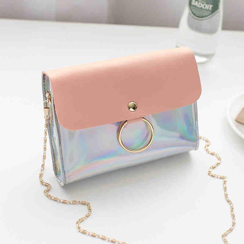 Laser Purses Clutch Women Shoulder Chain Handbags For Bag And Small Messenger Womens Mini Circle Crossbody Evening Bag Bags Wqnij