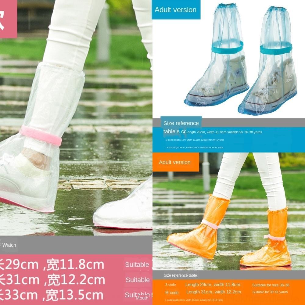 Iw0ol couverture de chaussures résistant à l'usure chaussures pluie pluie chaussures antidérapantes sandproof antipluie couverture pied épaissies extérieur enfants adultes p usage unique