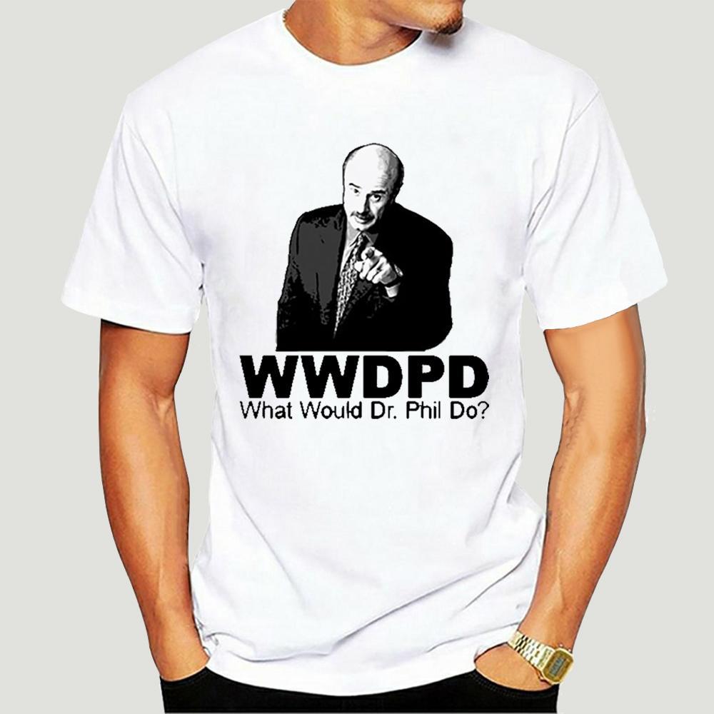 Ne misiniz Dr Phil Do Tişörtlü-0910D