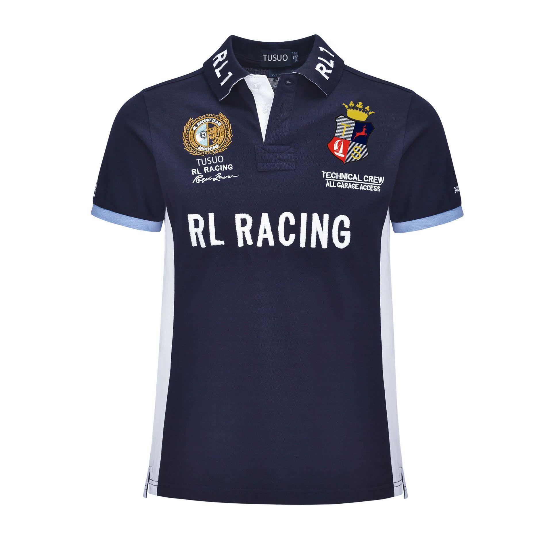 Haut de gamme de haute qualité polo logo cravate fashion T-shirt polo hommes de créateurs de luxe décontracté Polo