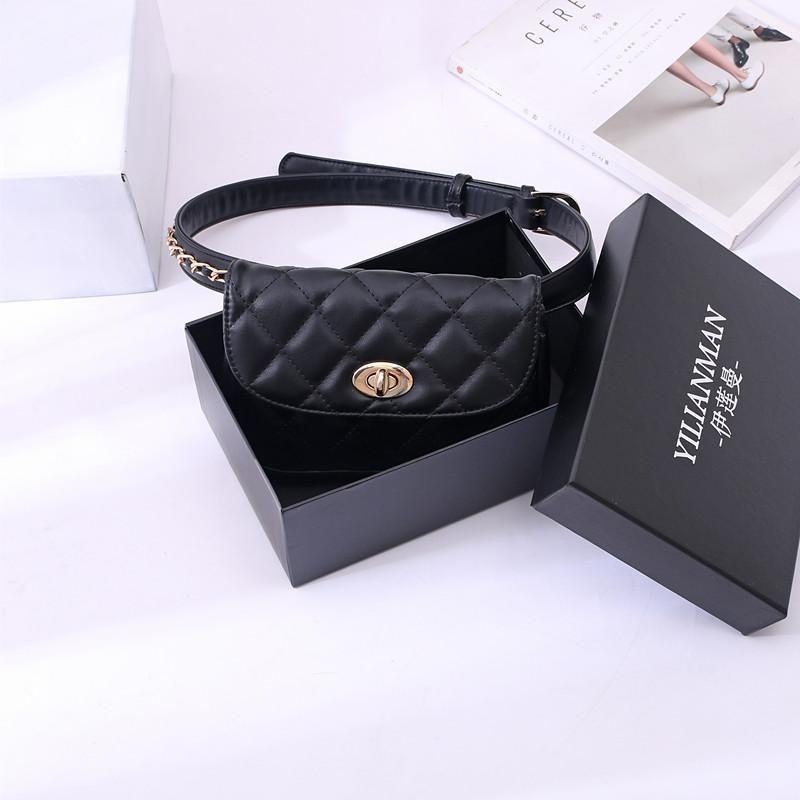 Bolsas para mujeres 2019 Nueva Cruzado bolsas para las mujeres mini bolso del hombro del mensajero Cc Bolsa con la caja