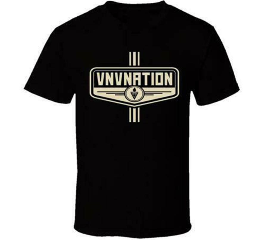 Nuovo VNV Nation 2 Nuovo maglietta FORMATO em1 Street Wear Fashion Tee Shirt