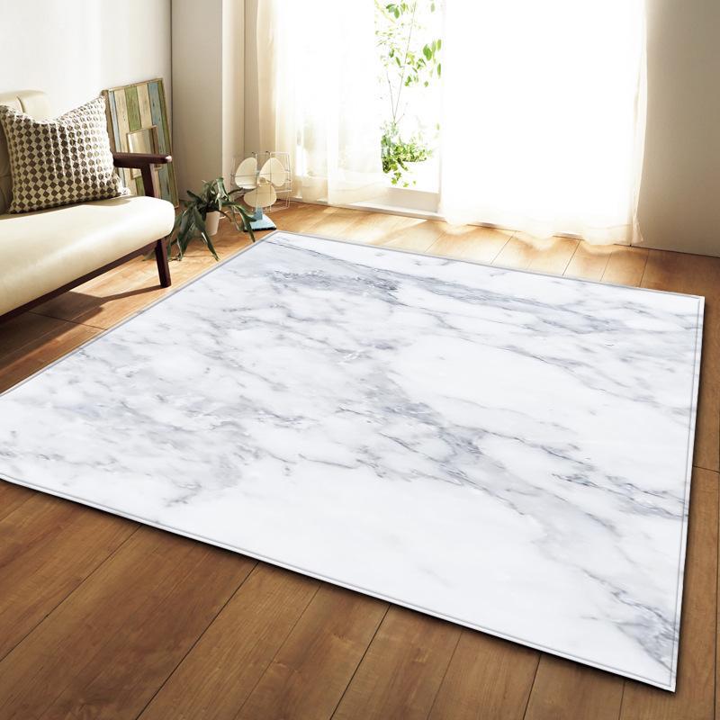 Nordic 3D Marmo Modello soffici tappeti flanella Tappeti Area Parlour Tabella antiscivolo bedroom bedside Mat Soggiorno grande tappeto