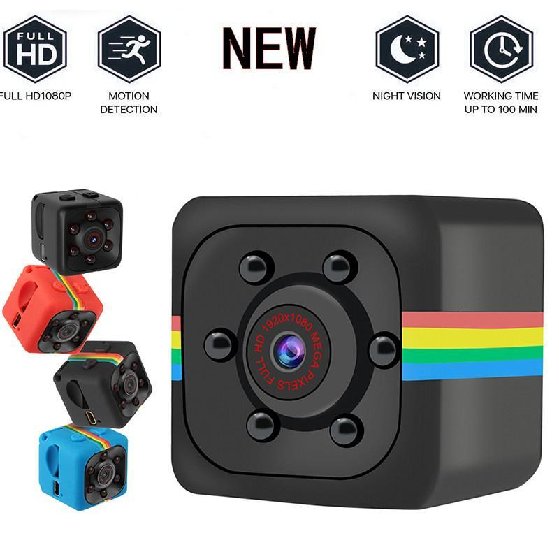 SQ11 Full HD 1080P Night Vision Camcorder Portable Mini Sport Cameras Video Recorder Cam DV Camcorder(not include TF card)