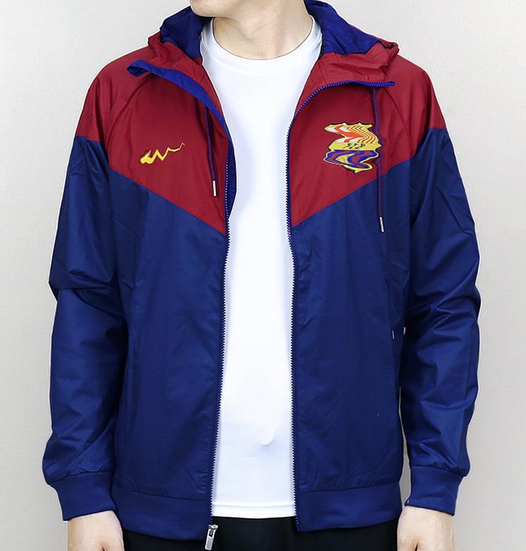 Mens Casacos Roupa Colorblock Jacket para o Homem Casual Zipper Windbreaker famaous Football Hoodies 2020 Outono Primavera