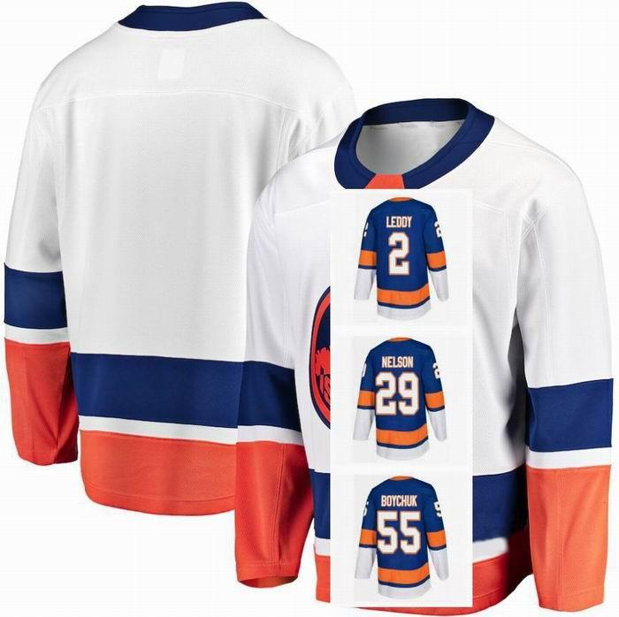 New York Islanders Josh Bailey Jersey 12 4 Andy Greene 44 Jean-Gabriel Pageau Mathew Barzal 13 27 Anders Lee Hockey Jerseys Custom genäht