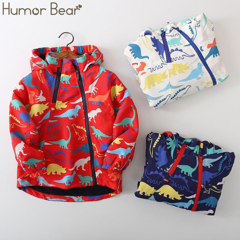 유머 곰 아기 패션 야외 벨벳 재킷 소년 아동 자켓 가을 겨울 만화 여자 후드 의류