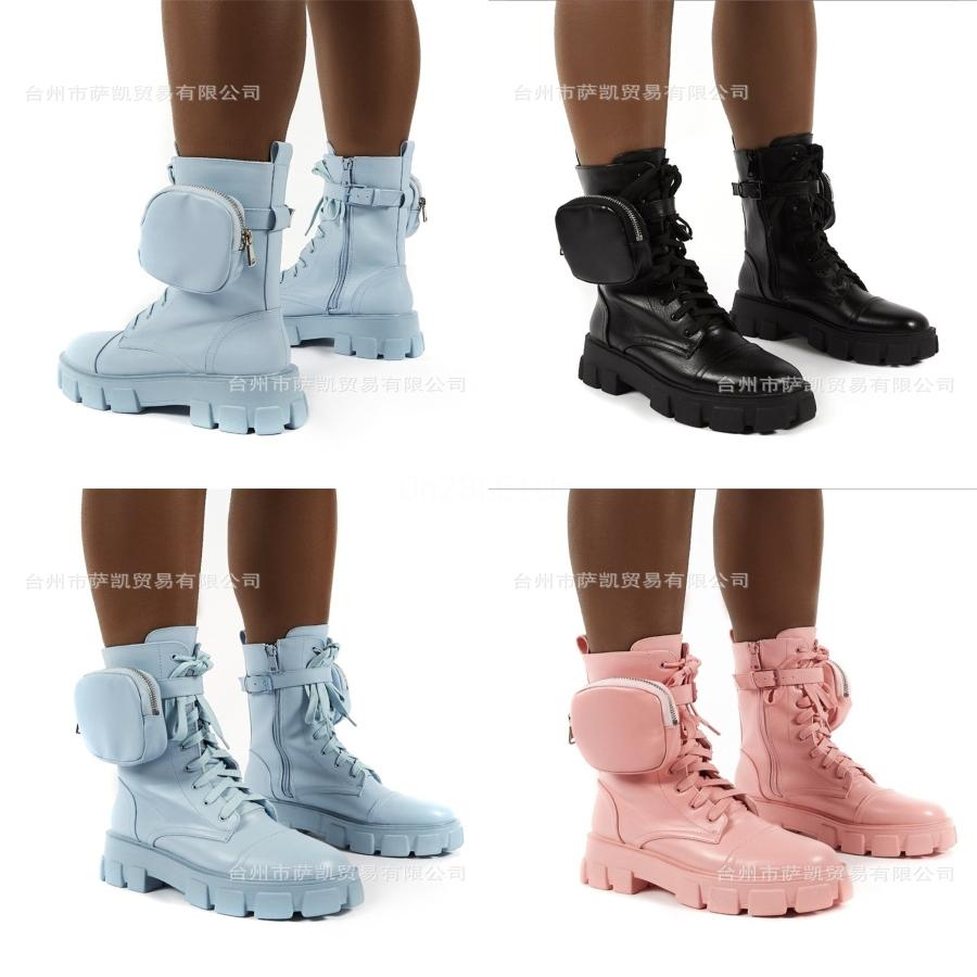 Moda Pelle donne della stella di scarpe da donna in pelle corti Autunno Inverno caviglia donne di marca di moda Stivali 01 PX111 # 226