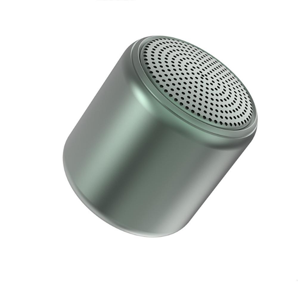 Macaron Petit Cannon en acier portable portable portable Bluetooth 400mah Mini haut-parleurs stéréo haut-parleur stéréo pour téléphone portable informatique