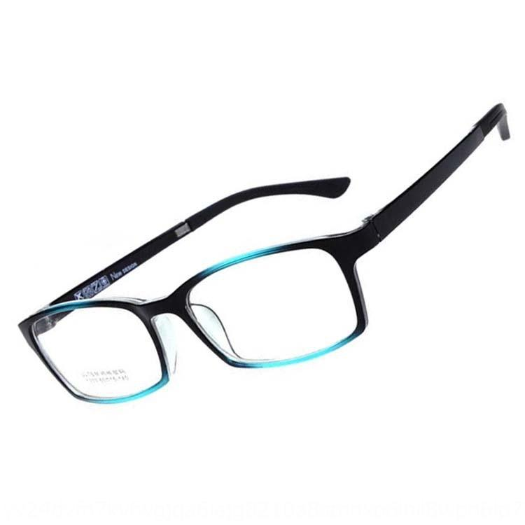 RoyFg Nuove imitazione di acciaio di plastica TR90 moda 1303 occhiali cornice degli uomini e delle donne del rack con gli occhiali