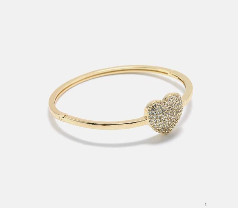 2020 Arrivée Bracelet NOUVEAU style européen et américain populaire Lady célébration de mariage Noble Coeur-shaped66