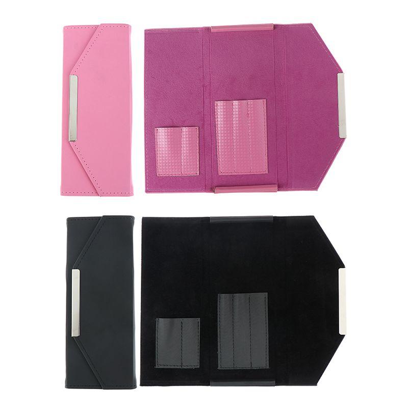 Eye Bag Eyelashes Tweezer Lash Makeup 1PCS Extension Tweezers 2colors Cosmetic Case For Tweezer Kit Bag Kwotv
