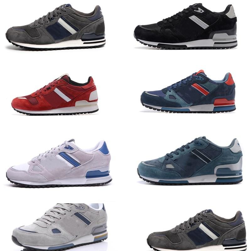 Suede chaussures mocassini uomini scarpe da ginnastica formazione scarpe Scarpe Triple Nero Multi-colore puro Platinu donne bianche scarpe da tennis correnti fare jogging