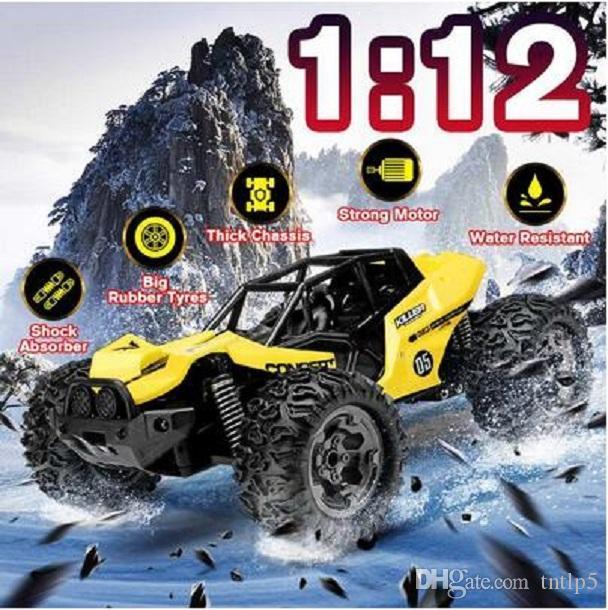Camiones 2020 Versión Actualizado 01:12 Nueva 4WD RC coche 2.4G del control de radio del coche de RC Juguetes de alta velocidad fuera de la carretera Camiones Juguetes para los niños regalo de los niños