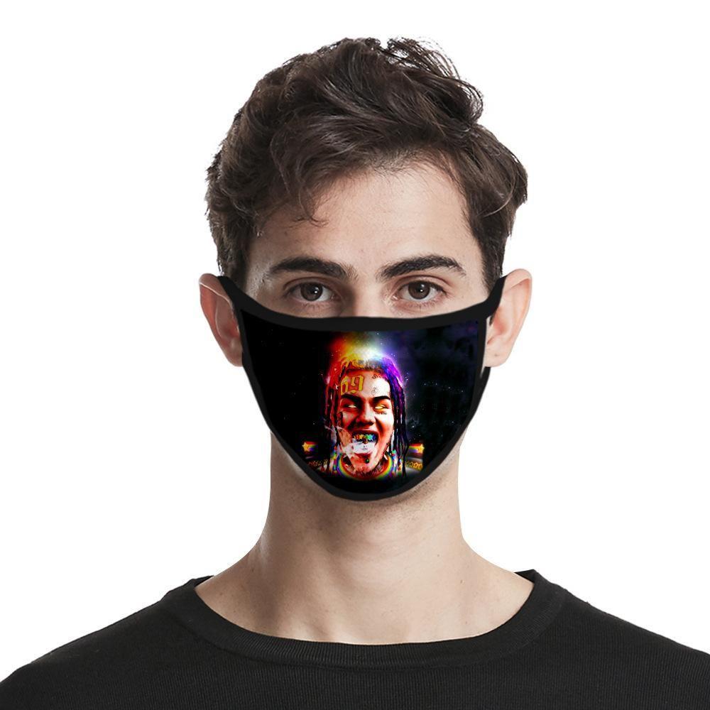 Enfants antipoussière Femmes Hommes usine Direct Sales Coton vie Masque 3dmask 6ix9ine Tissu Phgvn Yh_pack