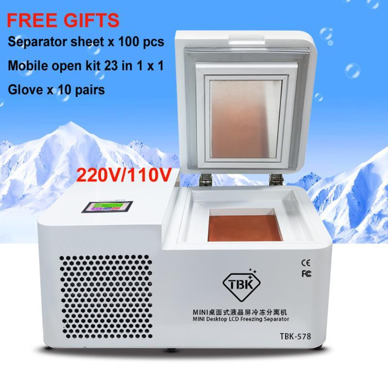 TBK-578 Mini-LCD-Screen Einfrieren Trennmaschine LCD-Panel Gefrorenes Separator für Samsung-Rand für Tablet-Bildschirm