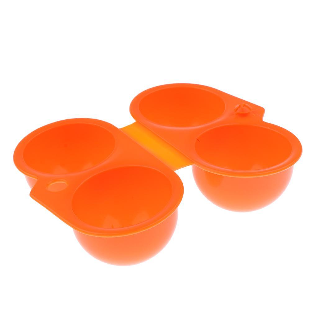 Portátil de plástico dobrável Cozinha Ovo Caixa de armazenamento Titular de transporte de contentores para caminhadas ao ar livre Piquenique Camping Escalada Pesca