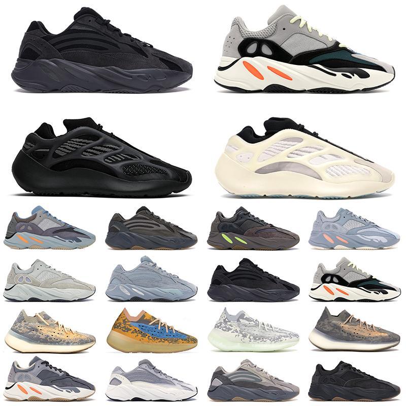 2020 Kanye West 700 الاحذية VANTA 700 V3 الفح Azael عاكس 380 Blue Oat Mist Alien Mens Sports Sneakers 36-46 Kanye