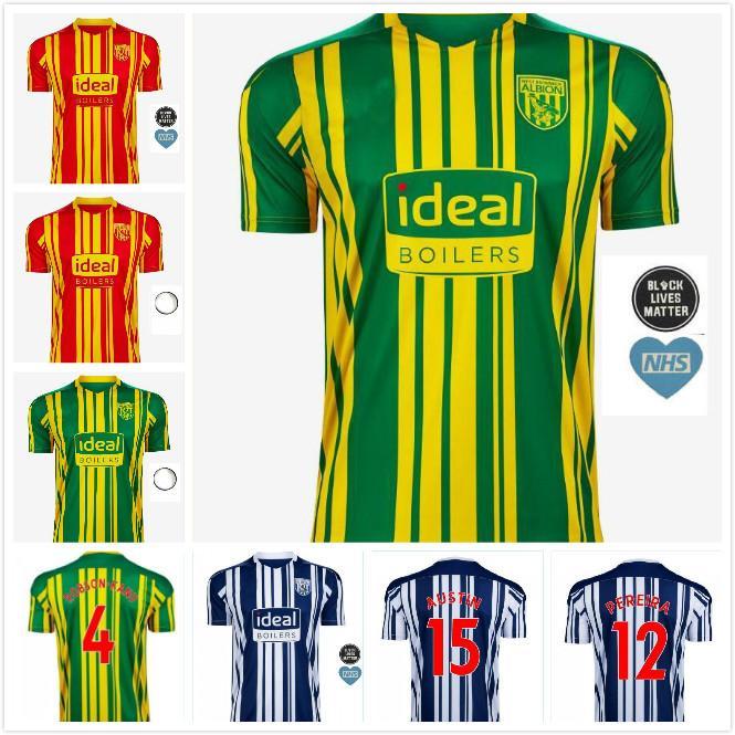 2021 20 21 West Bromwich Albion Home Soccer Jersey 2020 2021 Away Football Shirt Kit Camiseta De Futbol West Brom Men Kids Robson Kanu Townsen From Ggg518 14 51 Dhgate Com