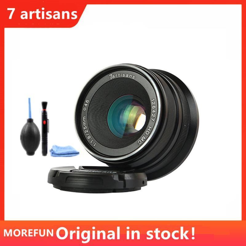 7 artesãos 25 milímetros / F1.8 Prime Lens para Todos Sony E Montar / Canon EOS-M Série Única Mount / Fuji FX montagem Olympus M43
